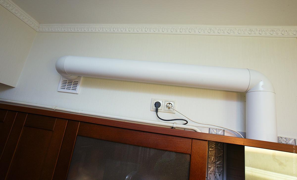 Вентиляция для вытяжки на кухне своими руками 449