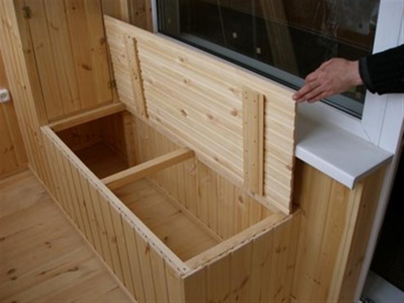 Ящик для хранения картофеля на балконе зимой своими руками