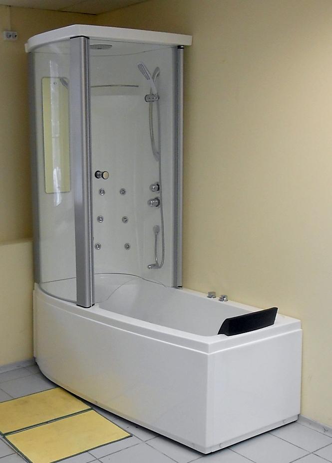Душевая в ванной фото