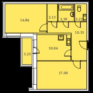 Включается ли балкон в общую площадь квартиры.