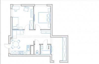 Предварительный план расстановки мебели. - Безымянный.jpg