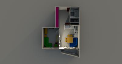 Варианты перепланировок - План квартиры, планировка 2.png