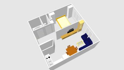 Варианты перепланировок - План квартиры, планировка Коля 1.png