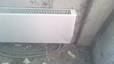 батарея работает, но накладка радиатора гнутая - DSC_1423.JPG