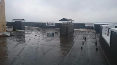 крыша над 5-1 типами квартир - DSC_1691.JPG
