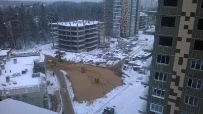 Ход строительства пятого корпуса - 5 корпус и подготовка площадки.jpg