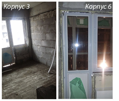 Сравнение подрядчиков в ЖК Мелодия леса на примере третьего и шестого корпуса - балконное окно.jpg