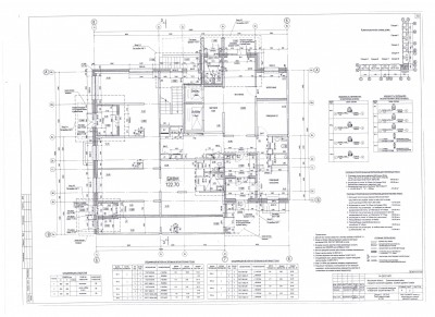 Линейные размеры типового этажа. Планы этажа. Участки - 5сек 8корп..jpg