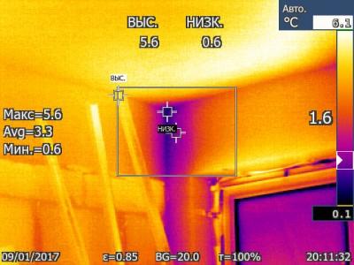 Угол у потолка с левой строны квартиры - Угол у потолка с левой строны квартиры IR000279.jpg