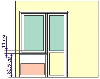 Кухня - самая важная часть квартиры - окно_и_дверь_на_кухне.JPG