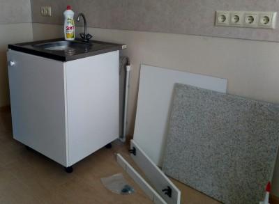Продам шкаф напольный с накладной мойкой и смесителем - 0123456.jpg