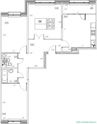 Продам 3-х комнатную дом 8, этаж 4. - 454.jpg