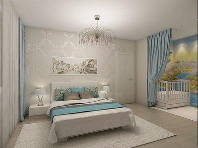 Идеи для дизайна квартир - Для пары с маленьким ребенком.jpg