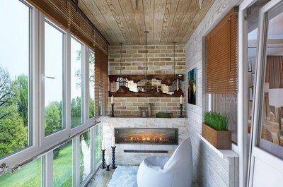 Идеи для дизайна квартир - Для больших балконов.jpg